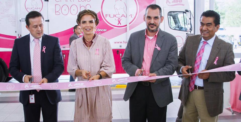 Photo of INAUGURA IVETTE MURAT LA 5ª JORNADA DE MASTOGRAFIAS PARA LA DETECCION DE CANCER DE MAMA