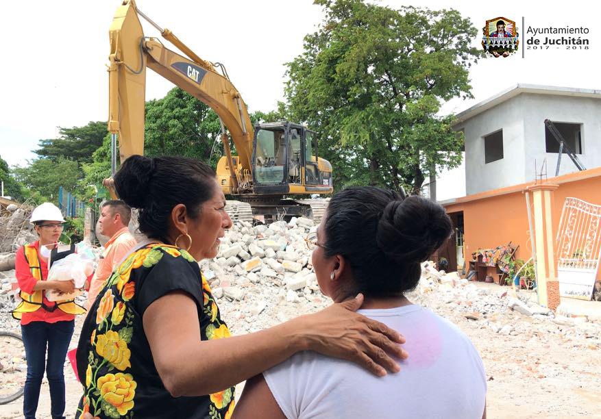 Photo of En menos de una semana mas de 100 casas han sido demolidas en Juchitán: CONAGUA