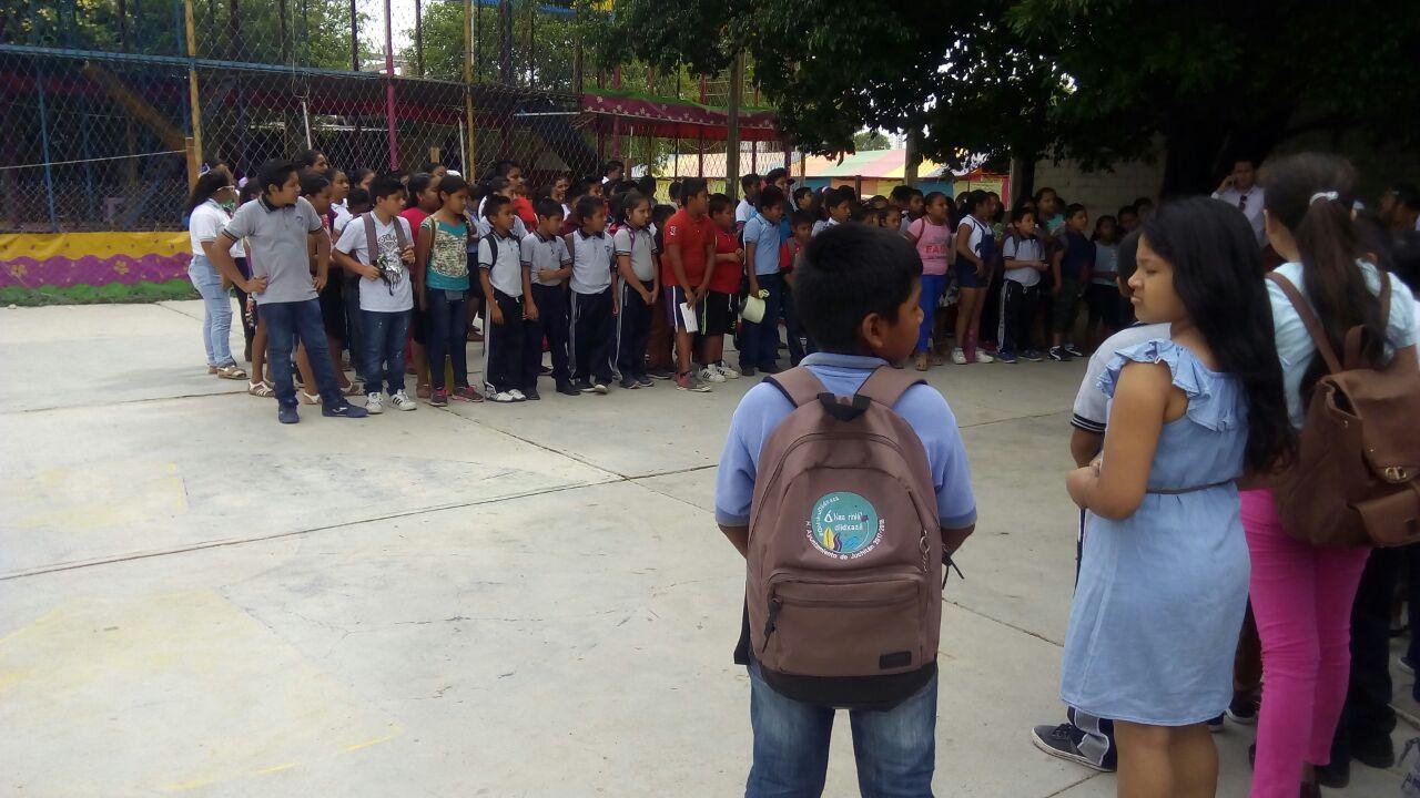 Photo of Inicia alfabetización en zapoteco de niños de primaria en Juchitán