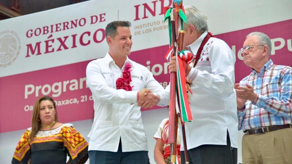 Photo of Celebra Murat pacto entre la federación y los pueblos indígenas