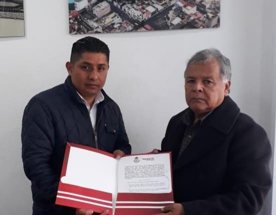 Photo of Hernán Martínez firma convenio con el club Toluca de primera división