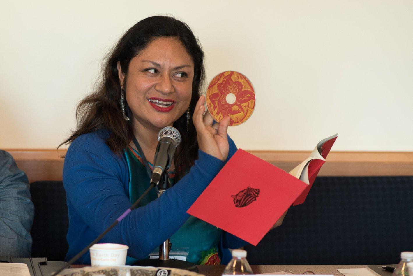 Photo of Irma Pineda candidata a representar a indígenas del continente ante la ONU