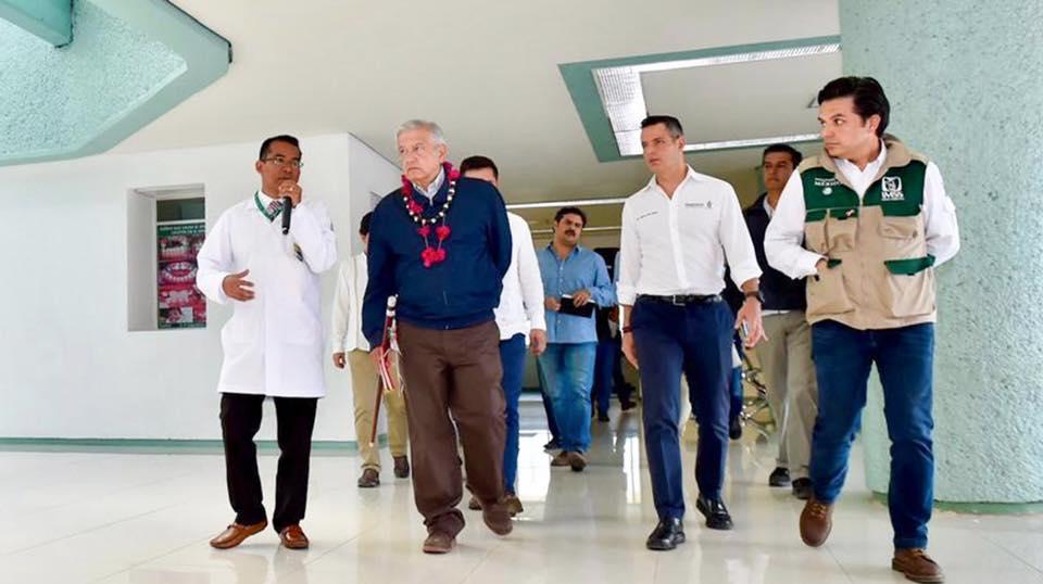Photo of Promete presidente de México concluir hospitales en Oaxaca