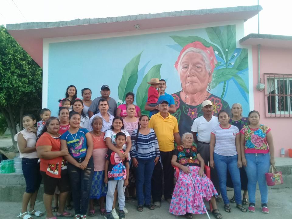 Photo of Inauguran mural dedicada a Na Juanita Tilla