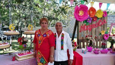 Photo of Le festejan sus 60 años a doña Magnolia de Gurgua