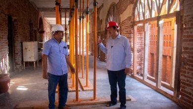Photo of Supervisa Emilio Montero reconstrucción de Palacio Municipal
