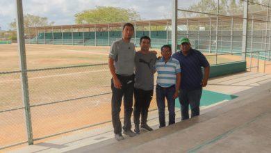 """Photo of Prepara Gobierno juchiteco área de juego en campo de béisbol, por serie """"Diablos"""" – """"Guerreros"""""""