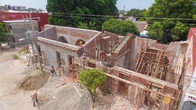 "Photo of 50 por ciento avance en restauración de nave principal de biblioteca ""Gabriel López Chiñas"""