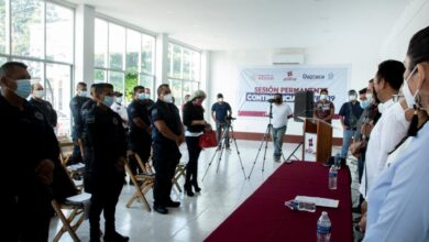 Photo of Estamos dignificando a la policía de Juchitán: Emilio Montero