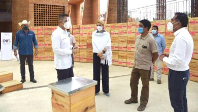 Photo of Entrega Alejandro Murat apoyos a apicultores de la Sierra Sur