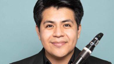 Photo of Emiliano Mendoza, clarinetista zapoteca con   nombramiento de «Vandoren Paris»