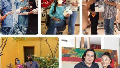 Photo of Colectividad Artística Oaxaqueña promueve uso de cubrebocas y apoya causas sociales
