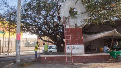 Photo of Remoza plazuela y jardineras de monumentos, Ayuntamiento de Juchitán