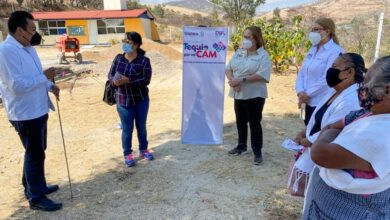 Photo of DIF Estatal Oaxaca constata avances de las obras del programa Tequio por mi CAM en los Valles Centrales