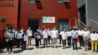 Photo of Entrega Sectur Oaxaca Registro Nacional de Turismo y Distintivos Moderniza