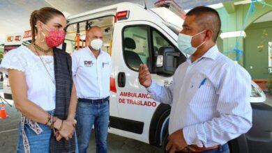 Photo of Con la gira de trabajo número 103 en lo que va del 2021, DIF Estatal Oaxaca entrega parque incluyente y ambulancia de traslado: IMM
