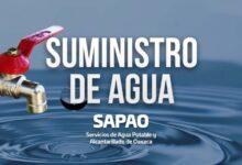 Photo of Durante periodo de facturación, SAPAO suspende pago de servicios