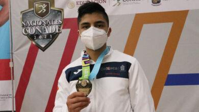 Photo of Llegó el oro para Oaxaca en la modalidad de combate del taekwondo en Juegos Nacionales