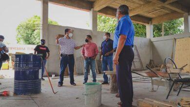 Photo of A paso firme avanza reconstrucción del edificio de la agencia Chicapa: Emilio Montero