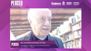 Photo of Plataforma PERCEO usa método con datos cualitativos y cuantitativos: Salomón Nahmad