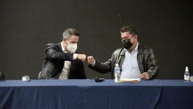 Photo of Se reúne Alejandro Murat con el líder del sindicato 3 de marzo